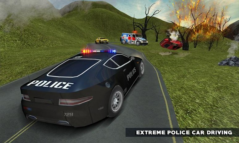 Car Driving Games >> Ambulance Rescue Missions Police Car Driving Games 1 0 Unduh