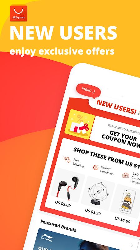 AliExpress Shopping App- $100 Coupons For New User screenshot 10