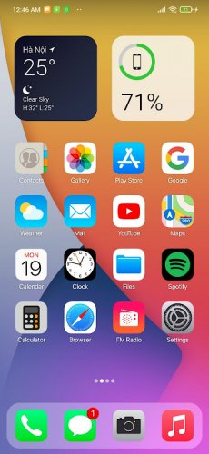 Launcher Phone 13 - iLauncher OS 15 - App Library screenshot 1