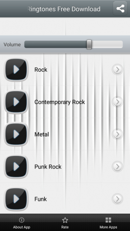 free rock music ringtones for android