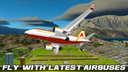 City Flight Airplane Flying Simulator screenshot 5