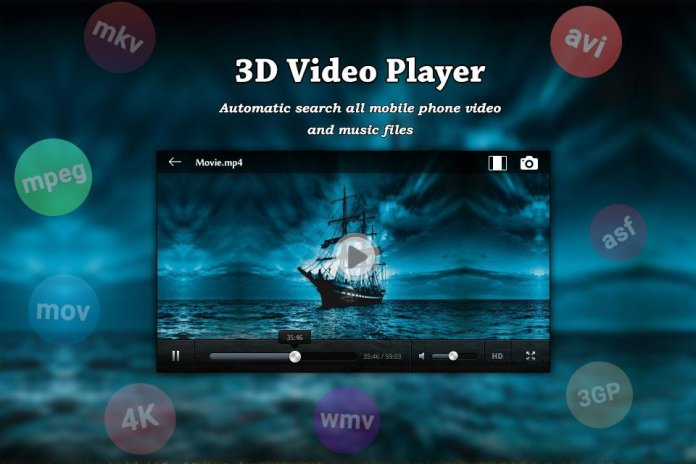 3d video player for android apk