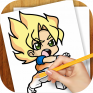 learn to draw dragon ball z icon