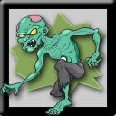 Zombie Fliesen: Killer-Zombies