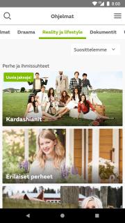 MTV Katsomo screenshot 5