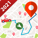 GPS Navigation 2021, Satellite Maps, Route Planner