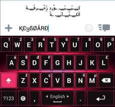 Decoration Text Keyboard Screenshot