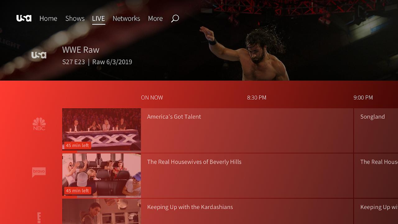 USA Network screenshot 2