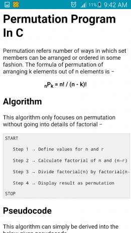 Learn C Programming (Examples) (OFFLINE) 1 0 3 Download APK