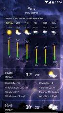 weervoorspelling screenshot 1