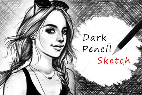 Pencil sketch effects screenshot 1