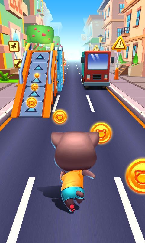 Cat Parkour - PK Sprint screenshot 1