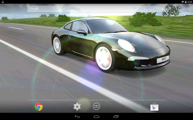 3d Car Live Wallpaper Screenshot 4