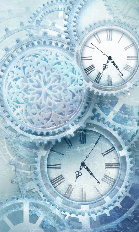 FREE Ice world time clock HD 1.05