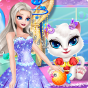 Princess Angela Clean up Cat 2