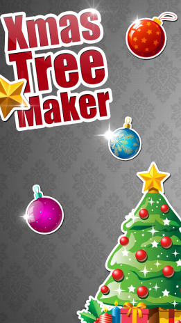 decorated christmas tree game screenshot 1 - Christmas Tree Decoration Games