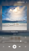 Samsung Music Screenshot