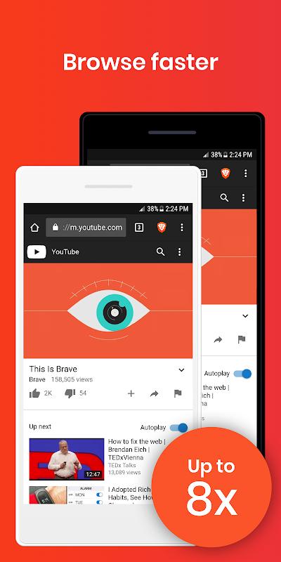 Brave Browser: Fast AdBlocker screenshot 1