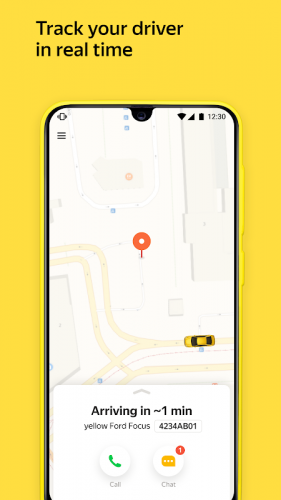Yandex Go — taxi and delivery screenshot 2