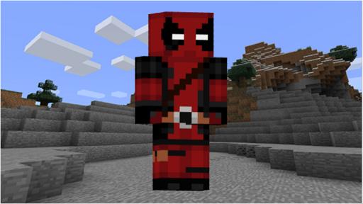 Minecraft Skin of Deadpool NEW 2020 screenshot 4