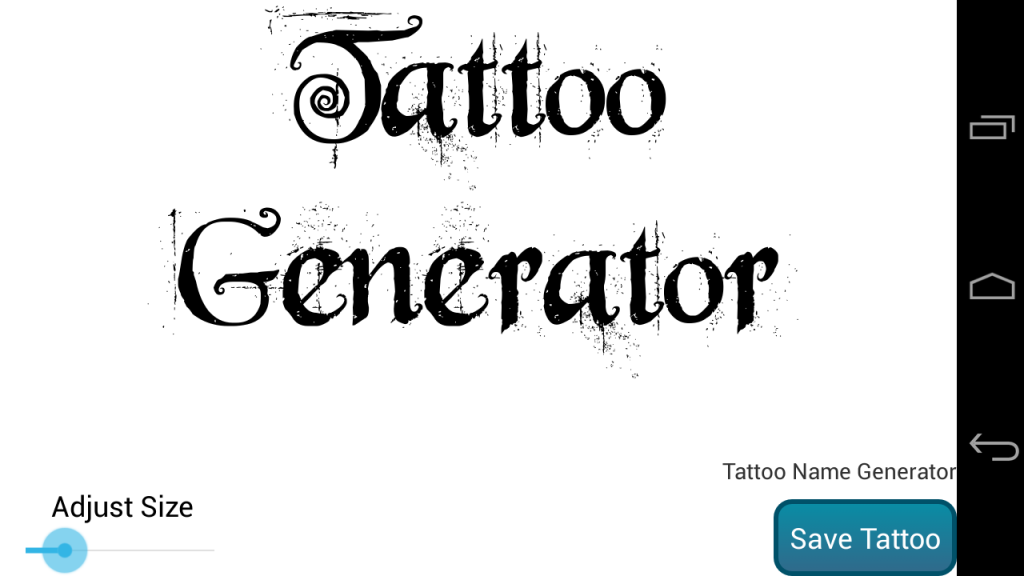 tattoo lettering generator name design generator apk for android 20275