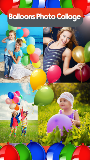 Balloons Photo Collage screenshot 1