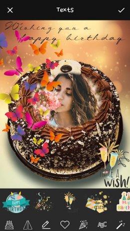 Name Art On Birthday Cake Focus Filter Maker App 1 5 Download Apk
