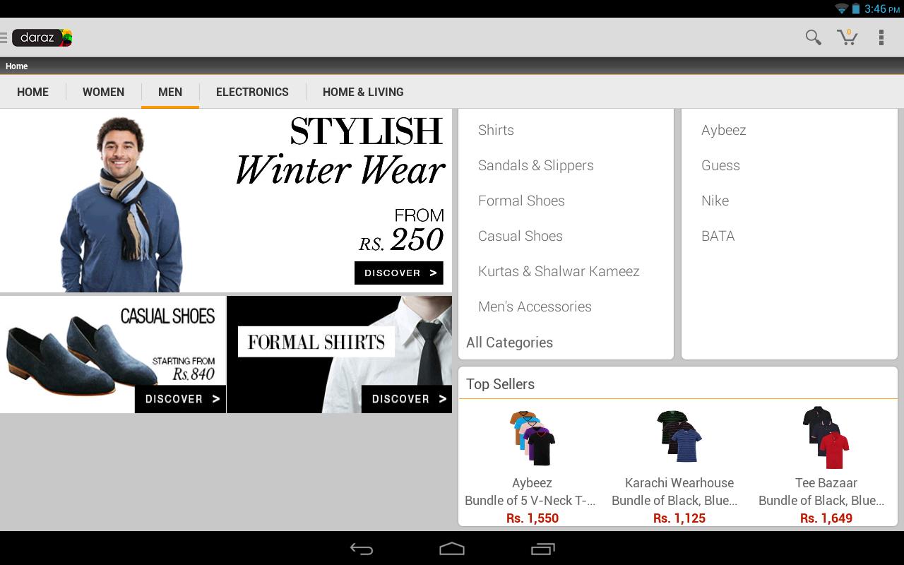 Daraz Online Shopping App screenshot 1