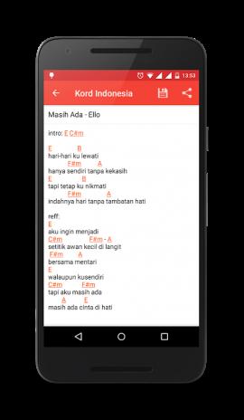 Chord Guitar Indonesia Offline Kordindonesia Kord Gitar