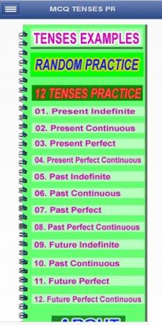 MCQ on Tenses Examples, English Grammar Practice1 1 1 tải