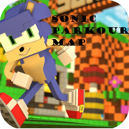 Sonic Parkour Map For MCPE - 1.0