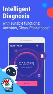 Security Master - Antivirus, VPN, AppLock, Booster screenshot 1