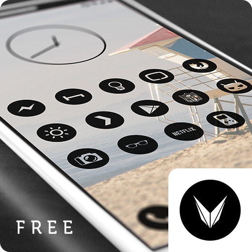 Dark Void Free - Circle Icons