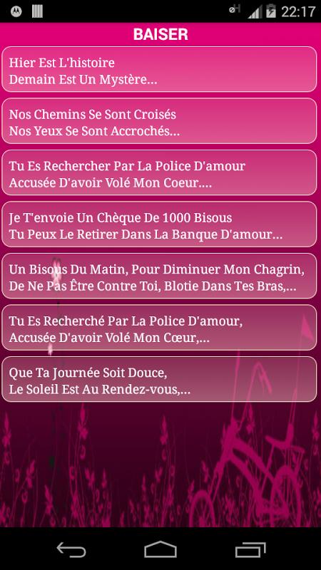 Citations et Poèmes d'Amour screenshot 2