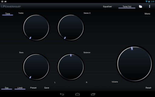 Poweramp screenshot 4