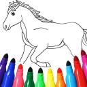 Pferden malen