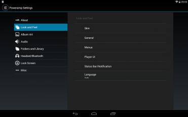 poweramp music player trial screenshot 5