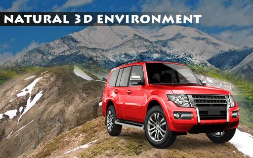 4x4 Mountain Car Driving 2017 screenshot 4