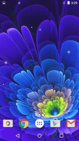 Flores De Neon Fondos Animados 2 3 Descargar Apk Para Android Aptoide