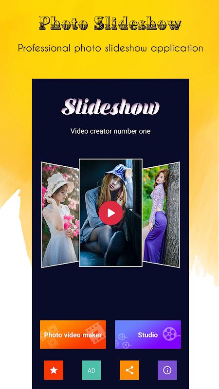 Criador de vídeos screenshot 1