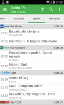 TV Guide Italy FREE Screenshot