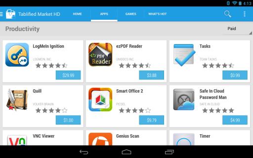 Tablified Market - Tablet Apps screenshot 12