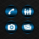 Delight Blue Icons