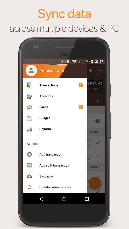Alzex Finance: Software de finanças pessoais screenshot 1