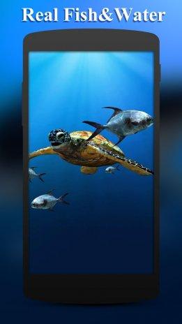 3d Sea Fish Live Wallpaper Hd 160 Descargar Apk Para