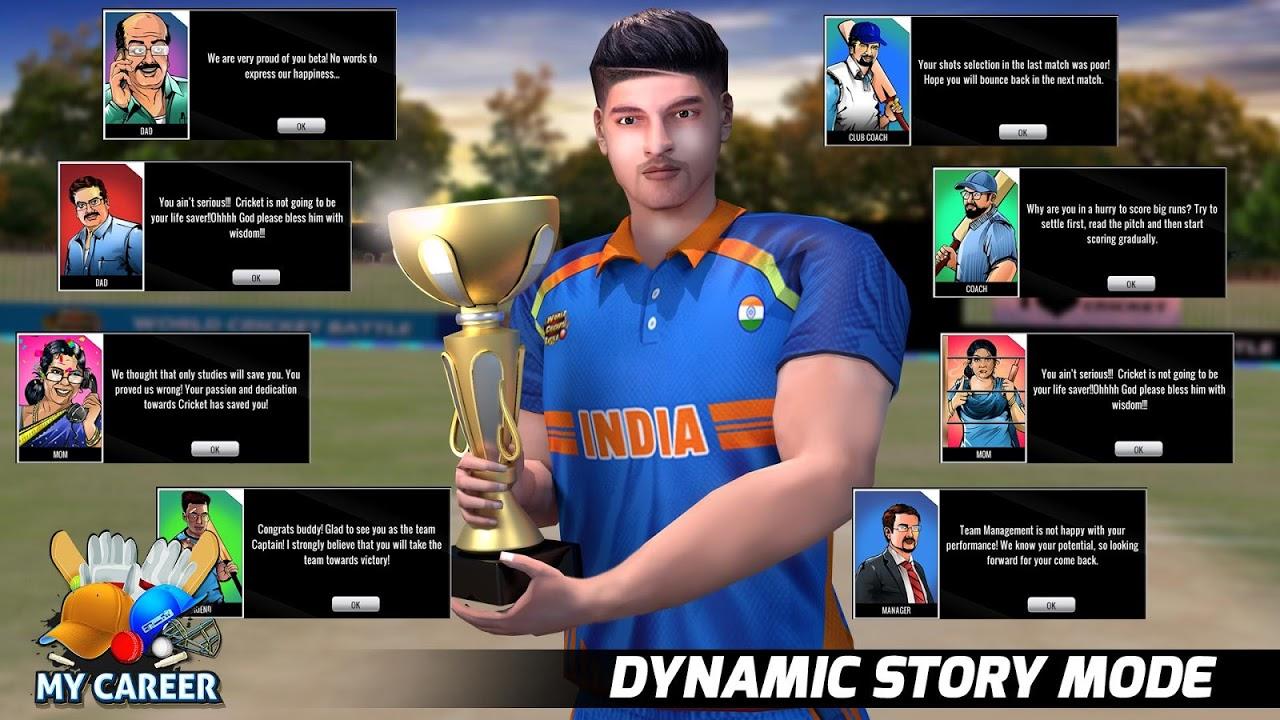World Cricket Battle screenshot 1