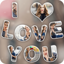 Text Photo Collage Effect Editor