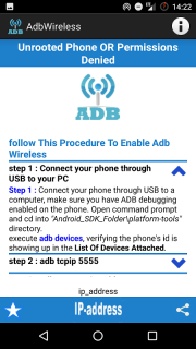 adb wireless (root or no-root) 1 0 1 Download APK for