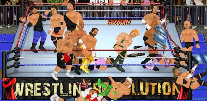 wrestling revolution wwe v2 mod apk download