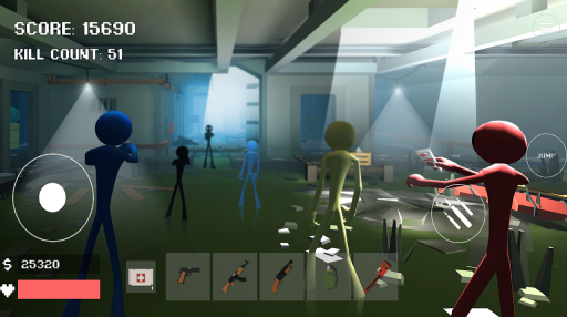 Stickman Combat Pixel Edition screenshot 1